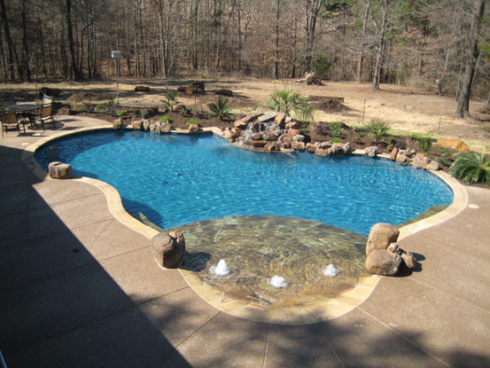 pics photos custom gunite inground pools