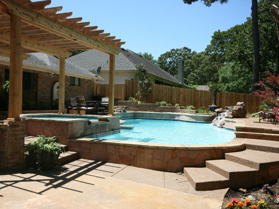 Custom Pool Designs | Swimming Pool Builders | East Texas | Longview Texas  | Tyler Texas | Gunite Pools | Inground Pool Designs | Pools And Spas | Pool  ...